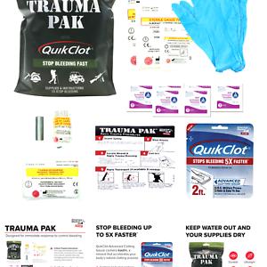 Adventure Medical Kits Trauma Pak with QuikClot Black One Size