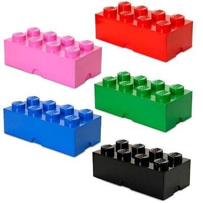LEGO storage Brick 1 Boîte de rangement Medium pink