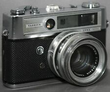 YASHICA LYNX-5000 35mm Vintage RANGEFINDER Film Camera YASHINON f/1.8 45mm Lens