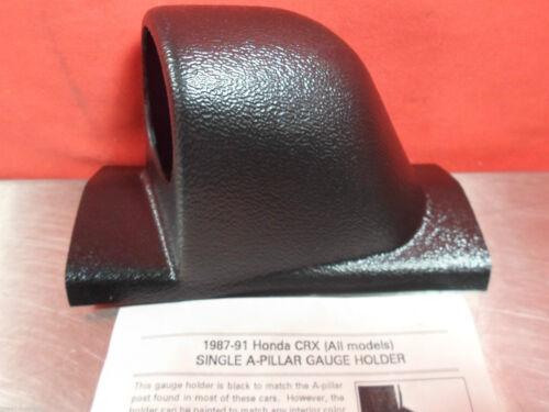 ALL MODELS SINGLE A-PILLAR GAUGE POD 1987-1991 HONDA CRX