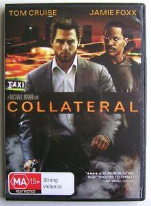 Collateral 2004 Dvd Movie Tom Cruise Jamie Foxx Jada Pinkett Smith Ebay
