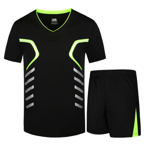 Men/'s Quick Dry Sport Set man Breathable Fitness Running Jogging Gym Sportswear