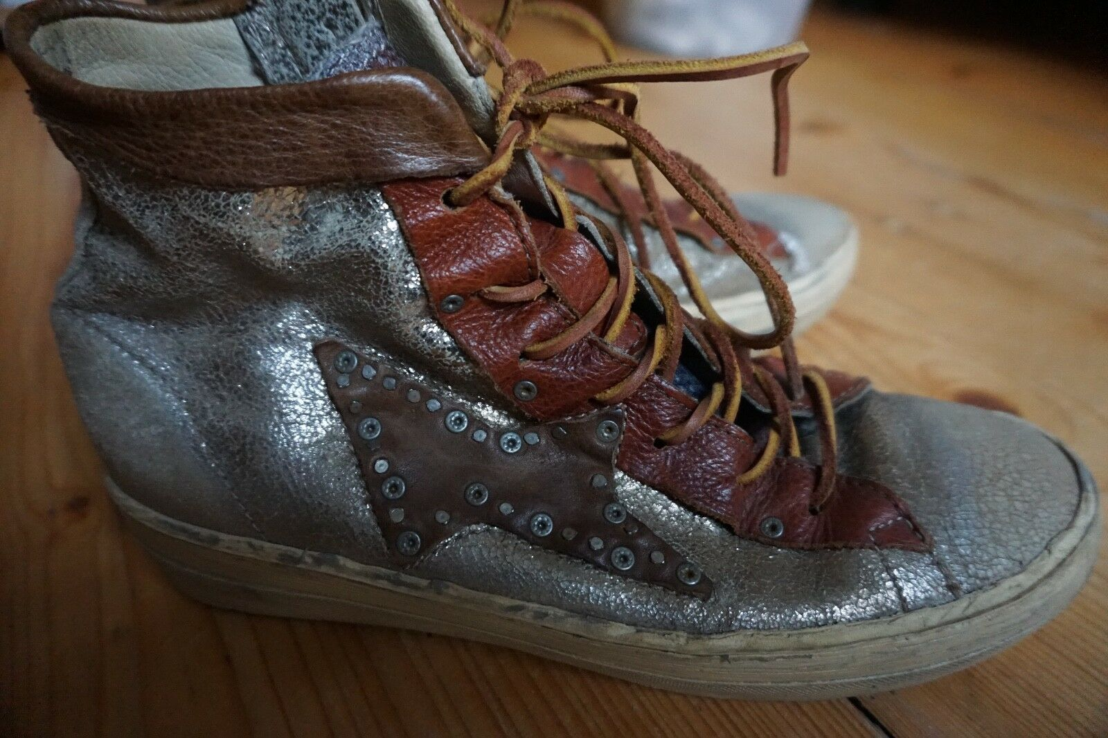 Airstep A.S.98 - DIXON - Sneaker high - A.S.98 bronzo/cotto 762d0d