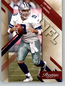 2010 Playoff Prestige Stars of the NFL #11 Tony Romo - Dallas Cowboys