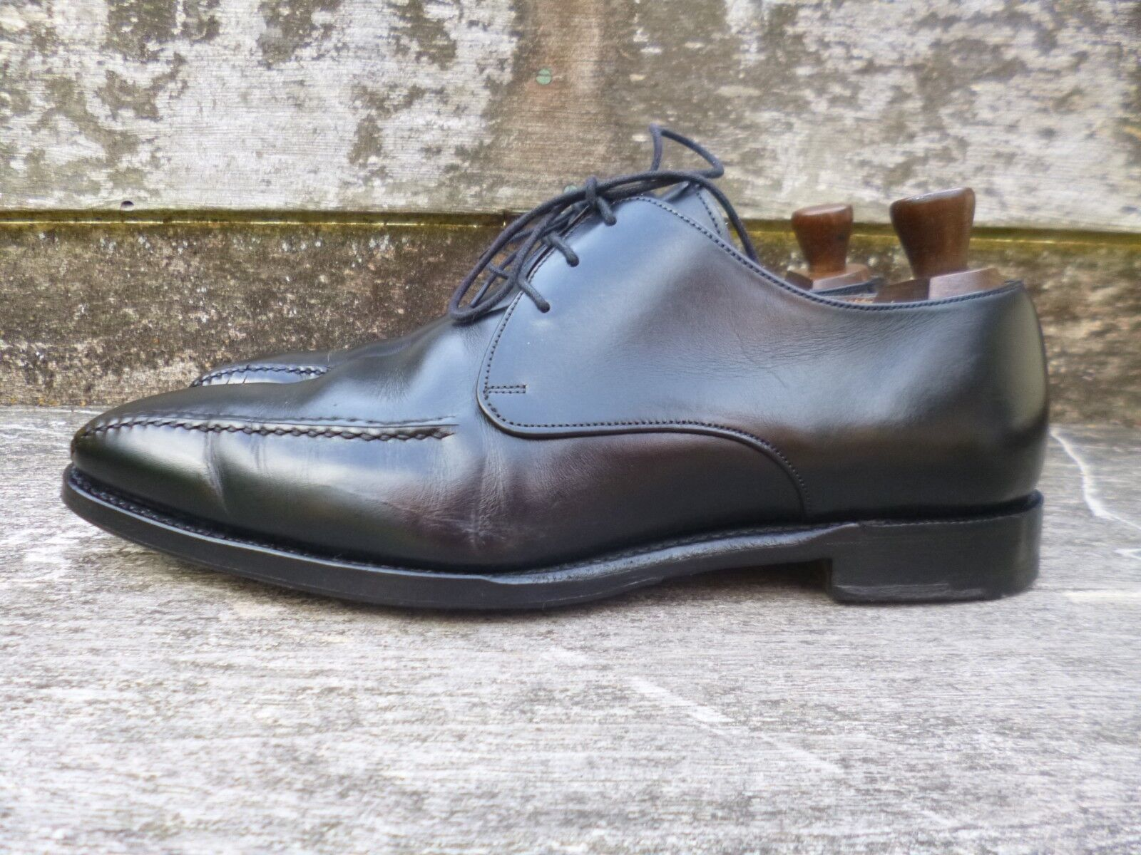 CHEANEY / CHURCH GIBSON – BLACK – - UK 8 – CURTIS - – EXCELLENT CONDITION fa8f9f