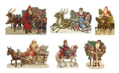 CHM Father Christmas on the Go Standee Kit