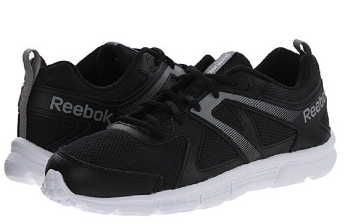 Men Reebok Run Supreme MT V66216 Black White Gry Silver 100% Authentic Brand New