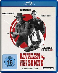 RIVALEN-UNTER-ROTER-SONNE-Charles-Bronson-Ursula-Andress-Blu-ray-Disc-NEU-OVP