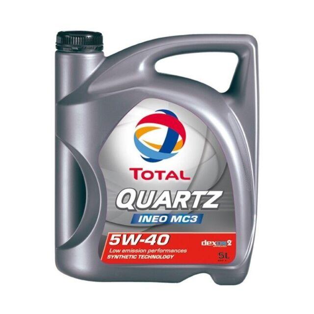 5L total Quartz ineo mc3 5W40 dexos2 aceite del motor BMW ll-04 MB Envío Gratis
