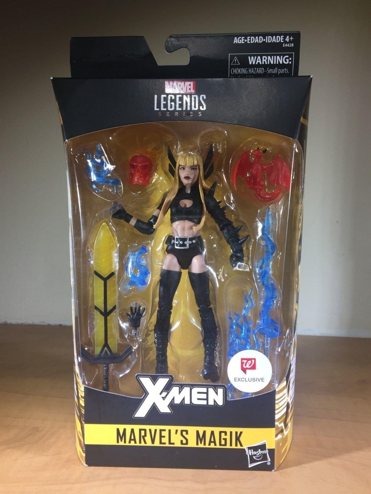Marvel Legends - Magik - Walgreens Exclusive - X-men X-men X-men - SEALED NEW  37142b