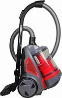 Ovente St2620r Bagless Cyclonic Canister Vacuum   Red   Free Shipping