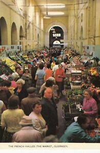 Postcard-THE-FRENCH-HALLES-GUERNSEY-A7