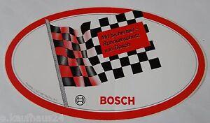 Promotional Stickers Bosch all-Round Motorsport Finishing Flag Garage