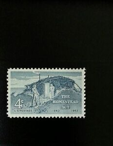 1962 4c The Homestead Act, 100th Anniversary Scott 1198 ...