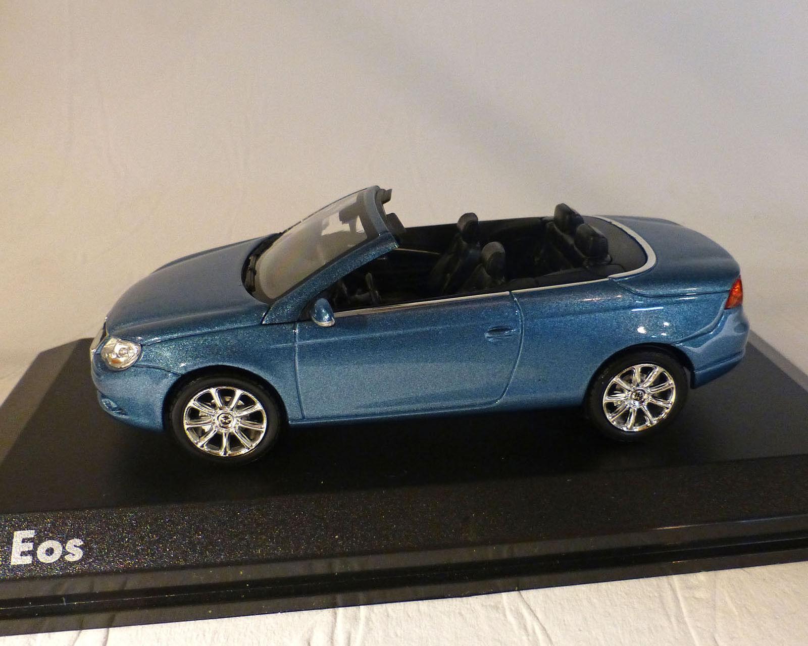 VW Eos, bluee Metallic, Norev 1 43