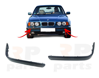 NEW BMW 3 SERIES E36 1996-1998 FRONT BUMPER MOLDING TRIM PAIR LEFT RIGHT
