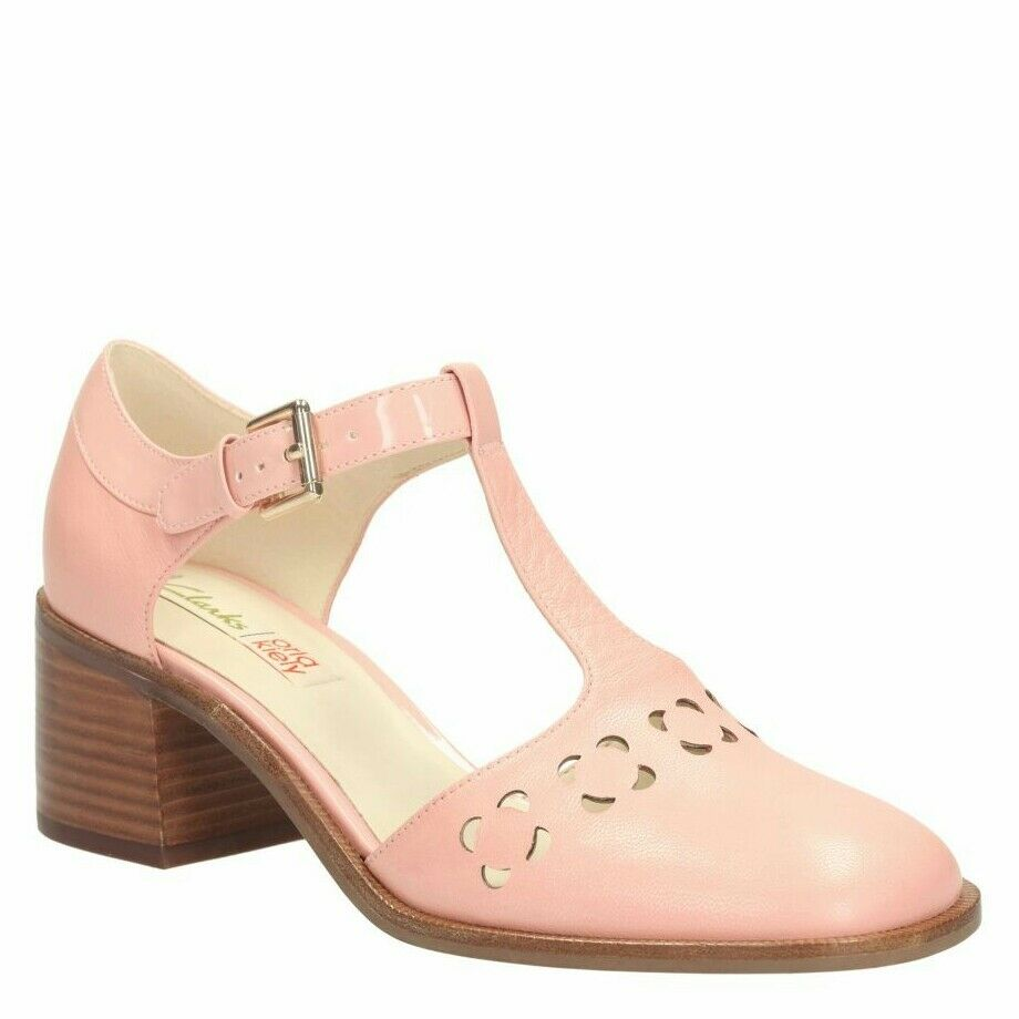 Tamaño 8 Orla Kiely Bibi De De De Cuero rosado Mary Jane Nuevos Zapatos para Mujer Regalo de Cumpleaños  increíbles descuentos