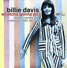 Whatcha Gonna Do? Singles, Rarities and Unreleased 1963-1966 * by Billie Davis (Singer) (CD, Apr-2007, RPM)