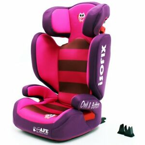Image Is Loading ISafe Booster Seat Isofix Group 2 3 Owl