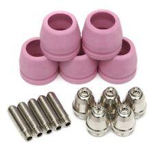 15pcs Ag 60 Sg 55 Plasma Cutter Consumables Electrodes Nozzle Tips Shield Cup