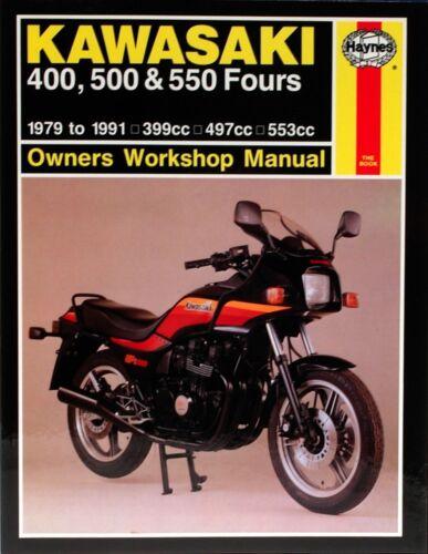 Haynes M910 Repair Manual for Kawasaki KZ550 Fours /& ZX550 Fours