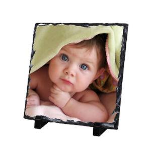 Toute image Photo Ardoise Mariage Bébé personnalisé Rectangle Plaque Avec Support