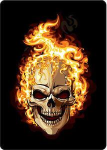 Image is loading g172-1-12-034-Custom-Flaming-Skull-Decal-