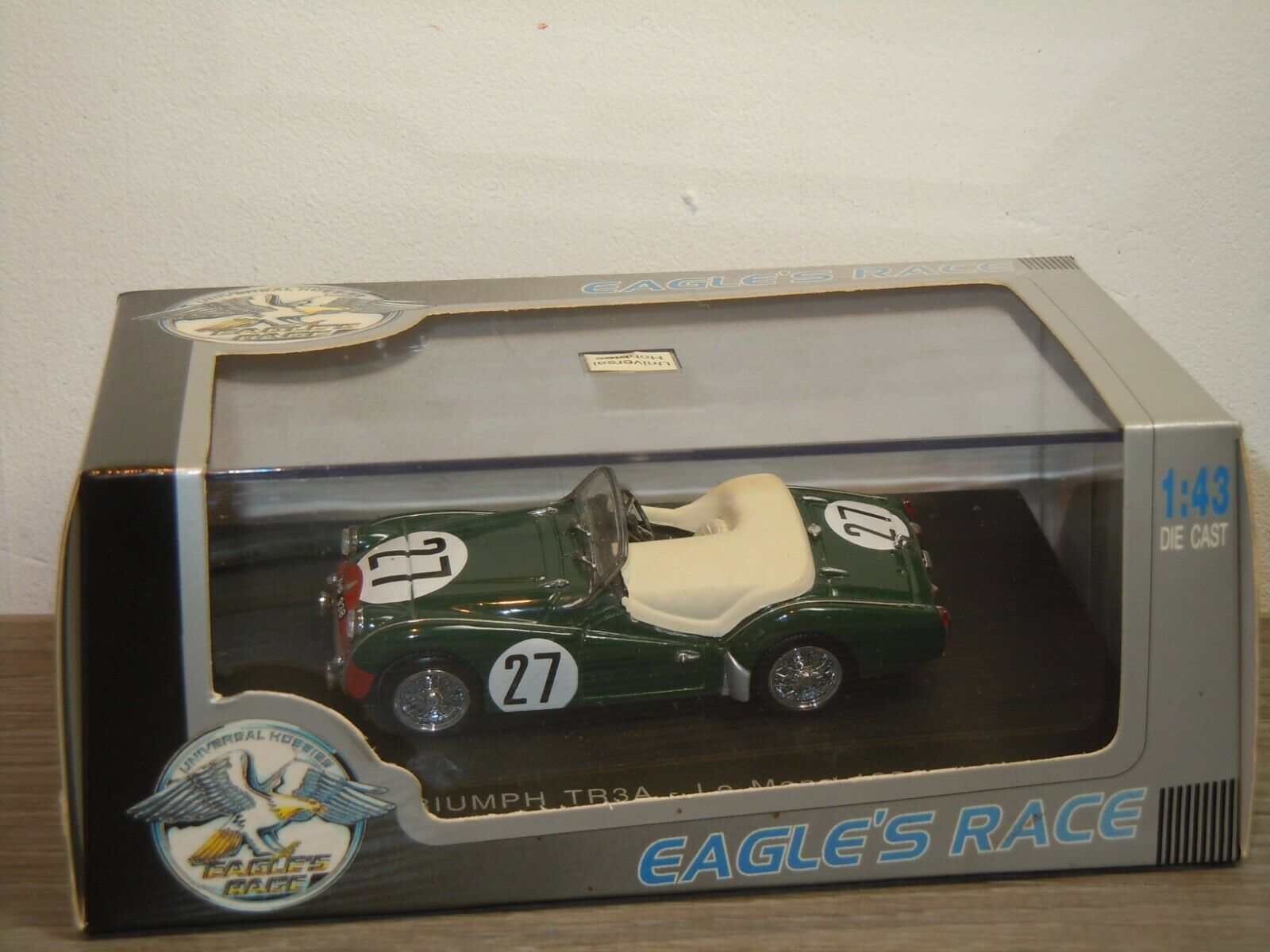Triumph TR3A LeMans 1959 - Eagle's Race 1 43 43 43 in Box 37205 c91819