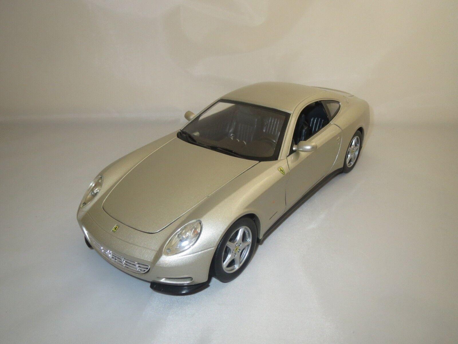 HOT WHEELS Mattel Ferrari 612 Scaglietti (Beige-Met.) 1 18 sans emballage