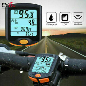 New-Road-Cycling-Computer-Waterproof-ANT-Speedometer-bicycle-Mileometer-UK-VIES