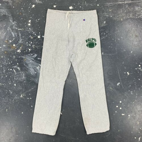 Valpo Football Reverse Weave Sweatpants 80s Vtg US