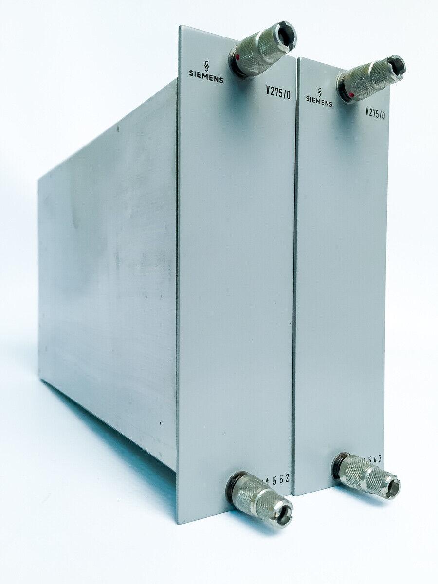 2 Siemens Sitral V275 0 Summenverstärker mit fast aufeinanderfolgenden S N