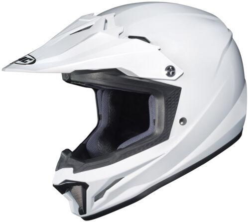 HJC Youth White CL-XY 2 Dirt Bike Helmet