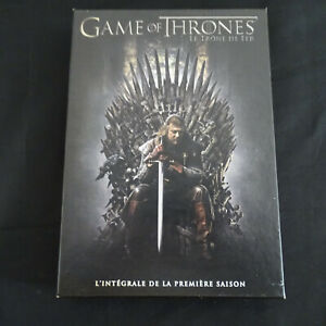 Details About Coffret Dvd Game Of Thrones Le Trone De Fer Integrale Saison 1 Livret Photo