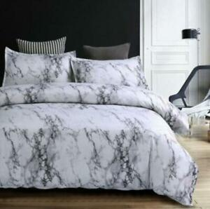 Gray-Simple-Marble-Bedding-Duvet-Cover-Set-Quilt-Cover-Twin-Queen-King-Size-3pcs