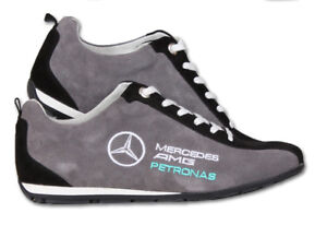 Details zu MERCEDES AMG Petronas Schuhe Neu Herren Bestickt Kleidung Fan Sport Shoes