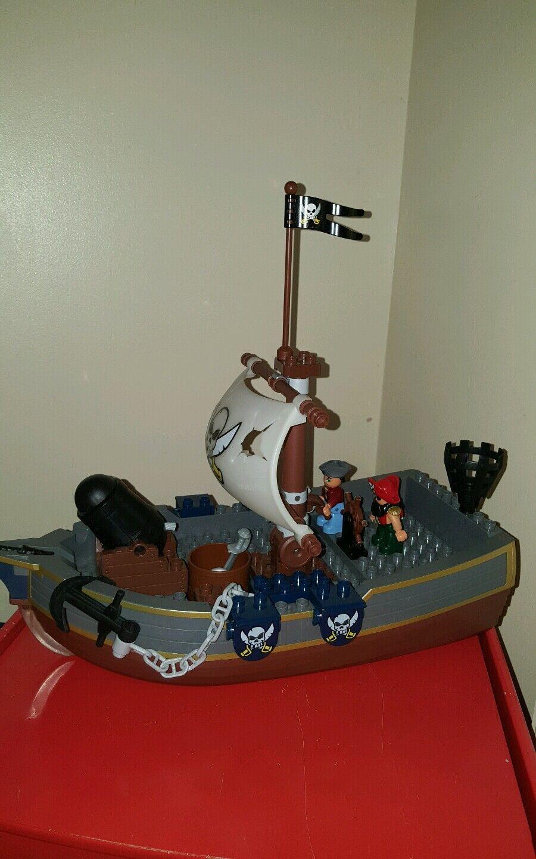 Lego Duplo Pirate Ship Boat Rare 7881