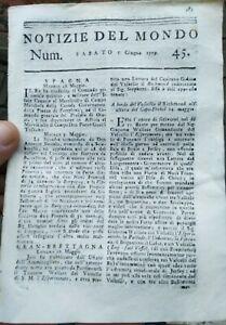 1779-RIVISTA-SU-GUERRA-NAVALE-ISOLA-DI-JERSEY-FILIPPO-CALCAGNINI-DA-FUSIGNANO