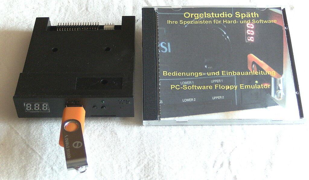 USB Emulator für Wersi Pegasus, PhonX...