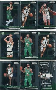 LOT-13-2018-19-PRIZM-BOSTON-CELTICS-LARRY-BIRD-BILL-RUSSELL-BASKETBALL-5283