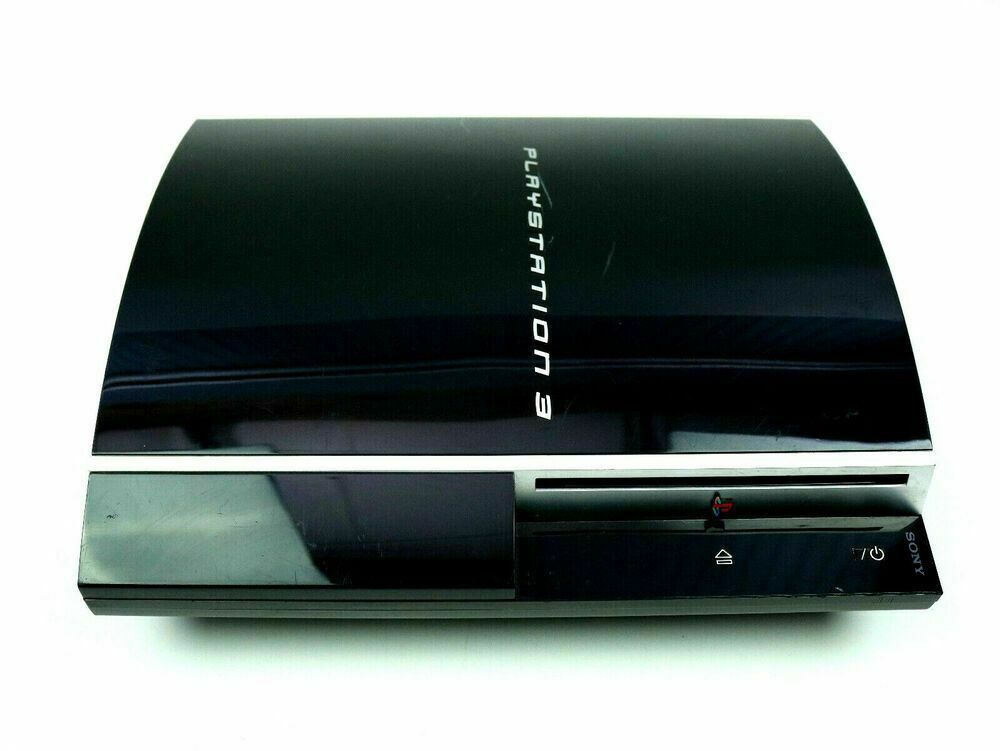 Sony PlayStation 3 Fat 60 GB CECHA01 Console Only Backwards Compatible Works