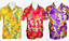 Hawaiian Shirt Mauve //Pink or Orange color Great for STAG PARTY SIZES M L XL XXL