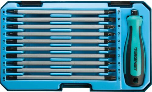 Signet 20 in 1 Screwdriver Set PH,PZ,Torx,Hex,SL S52851 Free P/&P