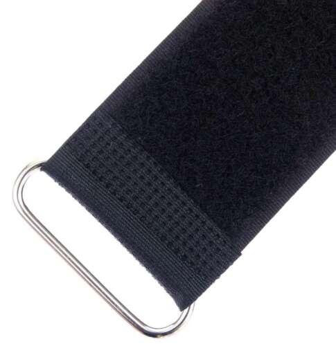 10 klettkabelbinder m ojal 500 x 50 mm verde flúor bridas cinta de velcro cable velcro