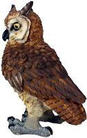 Dekofigur Uhu Eule Greifvogel Gartenfigur Tierfigur 42cm Kauz