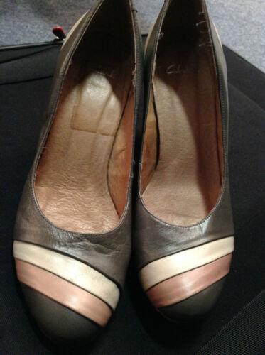 Chunky Heel Fawn Eu de Tone 2 High Court 37 Grey Clarks Shoes Uk 4 Todo cuero 6qC1RnZxZ