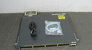 CISCO-WS-C3750E-48PD-SF-48-Port-Gigabit-Layer-3-POE-Switch-10Gbps-Uplinks-3750E