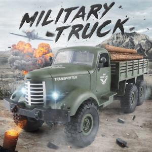 JJRC-Q60-1-RC-Auto-1-16-WW2-Remote-Control-4WD-Off-Road-Army-LKW-Spielzeug-Model