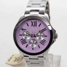 Fossil Uhr Uhren Damenuhr Multifunktion AM4555 Cecile silber rosa Armbanduhr NEU