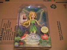 "Disney Fairies ""TINKER BELL"" Doll Loyal Brave  8-inch 2006 NEW Retired Set NIB"